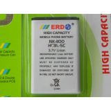 100 Original Erd Bl 5c Bl 5c Bl5c Battery For Nokia 1110 1110i 1112 1200 1208 1209 1600 1650 2310 2323 2330 2600 2626 3110 3610 5130 6030 6085 6270 6600 6681 7610 E70 E60 E50 N70 N71 N72 C2 02 C2 03 N91 Mobile With Bill Seal Pack And 6 Months Vendor