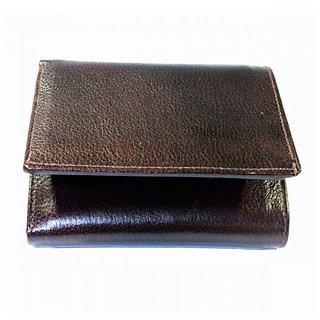 Dark Brown Men's Leather Wallet