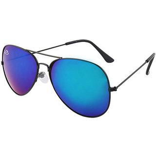 8c1df8f045 Buy Aventus Mirrored Blue Aviator Sunglasses-AvSUAB03 Online - Get ...