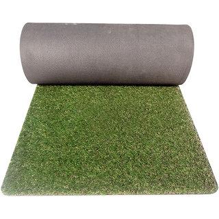 Gravolite Artificial Grass Mat 7 Mm Thickness, With 30 Mm Grass On Mat , 2.5 Feet Width  6.5 Feet Length