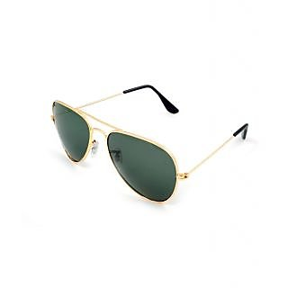 ST Green UV Protection Aviator Sunglasses For Men-STAV012
