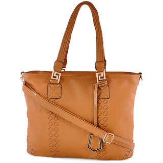 Stoln-Women Brown Hand Bag-209Brown