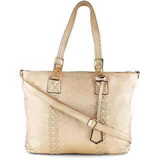 Stoln-Women Gold Hand Bag-209Gold