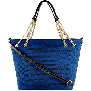 Stoln-Women Blue Hand Bag-992Blue
