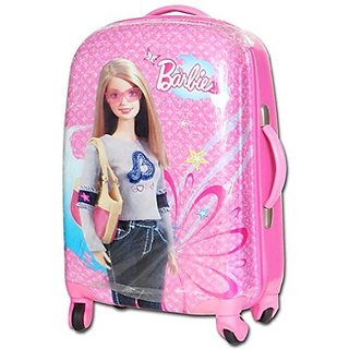 barbie kids trolley suitcase