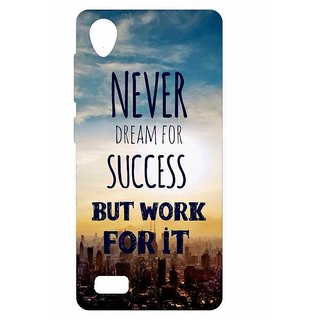 HI5OUTLET Premium Quality Printed Back Case Cover For VIVO Y31 Design 21