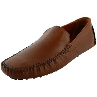 Okayy Tan Driving Loafer For Men