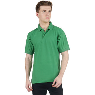 AVE Fashion Wear Cotton Blend Half Sleeves Polo T-Shirts For Men