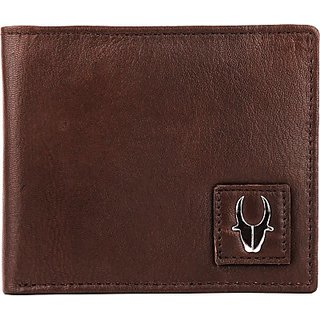 Men Formal Brown Genuine Leather Wallet
