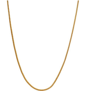 Mahi Gold Plated Gold Alloy & Brass & Copper Chain for Women