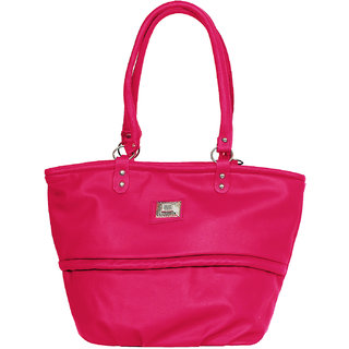 Fashno Ladies Hand Bag Pink Colour(FP-PNK-19)