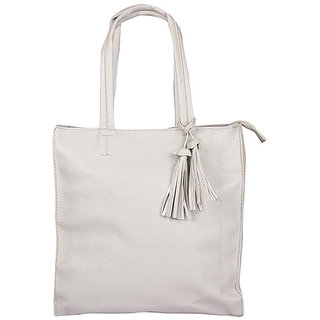 e584fb3464 Fiza White Color WomenS Leather Handbags
