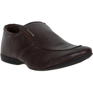 provogue s brown slip on casual shoes buy provogue