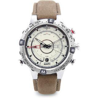 Timex Quartz White Round Men Watch T2N721