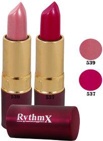 New Lipsticks Combo of Rythmx 539 537