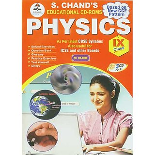 CLASS 09 - S CHAND  PHYSICS (3 CDs)