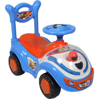 Ez Playmates Flash Car Kids Ride-On Blue/Orange