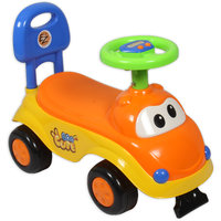 Ez Playmates Cute Car Kids Ride-On Orange/Yellow