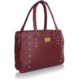 Daily Deals Online Shoulder Bag Maroon 90725009