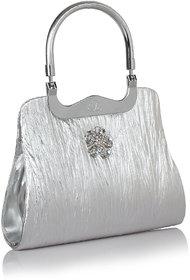 Daily Deals Online Silver Shoulder Bags 9175010