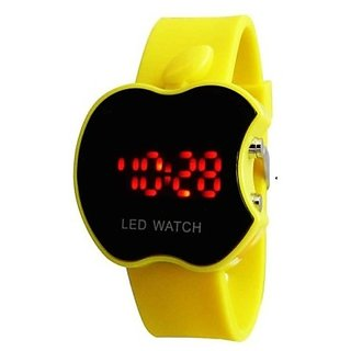 Apple Led Yellow Watch for Kids