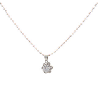 Urthn Alloy Silver Cocktail Chain Pendant - 1200943