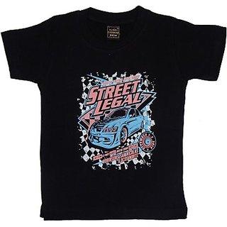 Plipsh Graphic Print Boys Round Neck T-Shirt