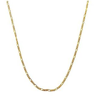 Mahi Exa Collection Gold Plated Figaro Thick Mens Chain CN6012009G