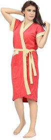 Imported Double Shaded Bathrobe SPA Gown (Gajri-DC)