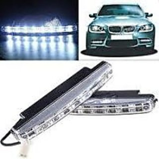Car Daytime Super Running 8 LED Light Super Bright Light