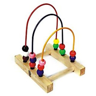 Skillofun Bead Shuttle - Three Loops Playset