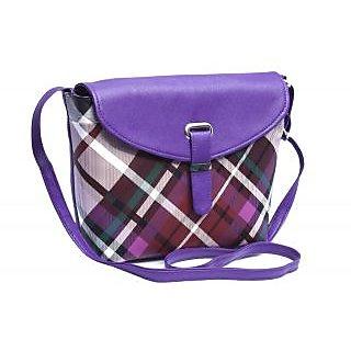 Voaka Womens Purple Sling Bag