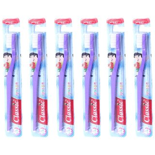 Junior Soft Toothbrush (Pack of 6 )