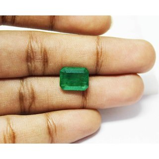 3.78 Carats Natural Emerald (Panna) UnHeated  UnTreated by AstroGem.co.in