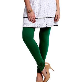 Juliets Cotton Leggings Bottle Green