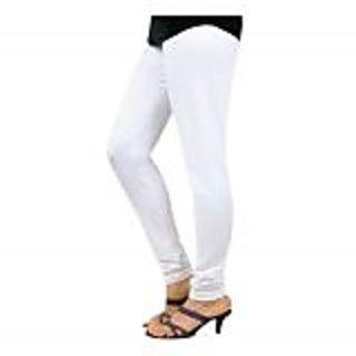 Juliets Cotton White Leggings