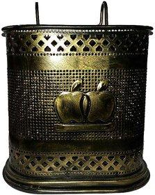 Saniware Steel Bathroom Holder -Golden Brass Colour