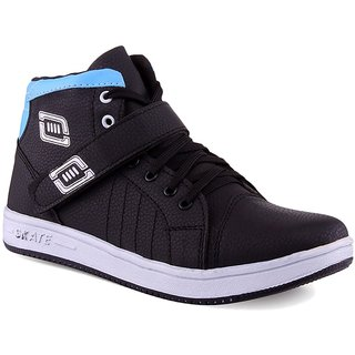 buy aadi black canvas casual shoes online  ₹649 from