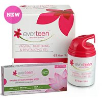 Everteen Combo Of Gel 30Gm And Natural Intimate Wipes 15 Count