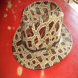 f38ed494c83 Buy leather stylish round cap hat Online   ₹300 from ShopClues