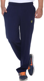 Vimal Premium Navy Cotton Trackpants-D10NAVY
