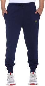 Vimal Premium Navy Cotton Trackpants-D8NAVY