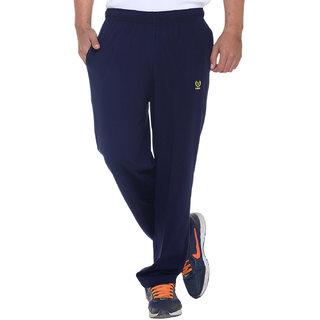 Vimal Premium Navy Cotton Trackpants-D10NAVY