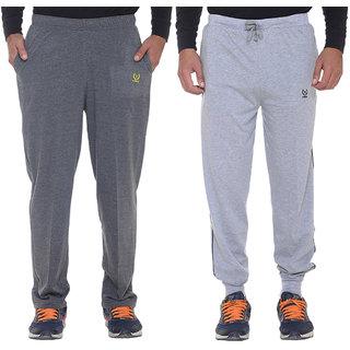 Vimal-Jonney Cotton Blended Trackpants Pack Of 2