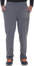 Vimal-Jonney Premium Dark Grey Cotton Trackpants-D10ANTHRA