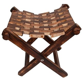 Buy Wooden Foldable Stool Chair Table Made From Natural