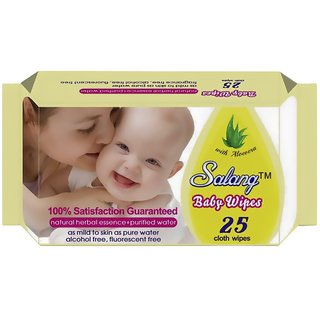 branded Baby Wipes - Pack of 25 pcs