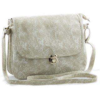 Voaka Womens Sling Bag(White Boxsling): Buy Voaka Womens Sling Bag ...