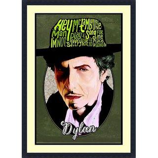 Dylan  - Framed Art Print 25 x 36