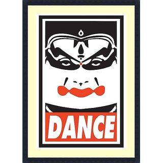 Dance  - Framed Art Print 25 x 36